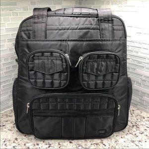 Lug Puddle Jumper Overnight/Gym Bag In Black